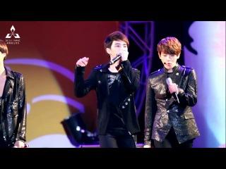[Fancam] 121012 @ Cheorwon Taebong Concert. Beatbox D.O. [ avell-do ]