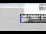 SketchUp.RU: Ковка (геометрия или текстура?). Создаем Псевдо-3D деревья.