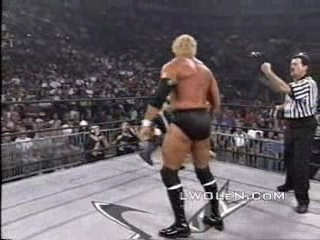 Bash at the Beach '99 Sting & Kevin Nash vs Randy Savage & S