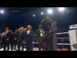Выход Саши Поветкина на бой с Владимиром Кличко (Николай Емелин - Русь)
