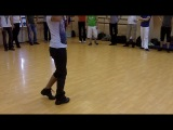 Dadinho Jefferson - Men Style workshop. Basic zouk RnB step - syncopation
