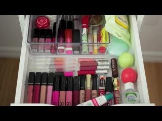 Хранение и организация моей косметики. Часть 2