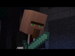 Emerald Trading - A Minecraft Animation