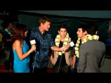Jonas Brothers Interview at the Sunset on the Beach premiere of 'Hawaii Five-0'