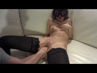 Фистинг тройное проникновение, трахает двумя руками, жесткое порно, порнуха, секс, ебля