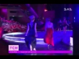 Вера Брежнева упала с 2-метровой высоты на гала-концерте шоу (Хочу в ВИА Гру)