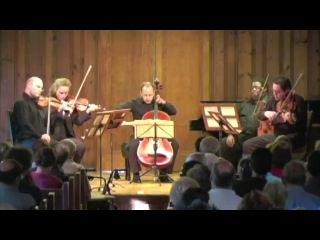 Моцарт - Струнный квинтет №2 си-бемоль мажор, KV406 III. Menuetto in Cano Trio al Rovescio