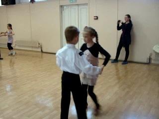Открытый урок по бальным танцам (переход в спортивный класс)