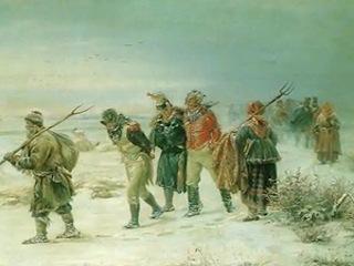 Пленные французы в Белой Холунице (Война 1812 года)