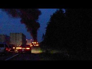 пожар на Московском шоссе 2011