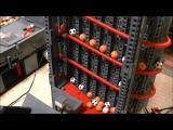 Лего Большой Мячиковый Конвеер (БМК) из 17 модулей