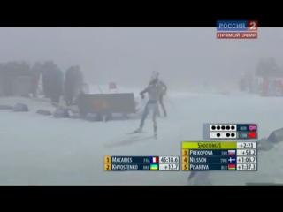 Губерниев ругается в прямом эфире биатлон триатлон