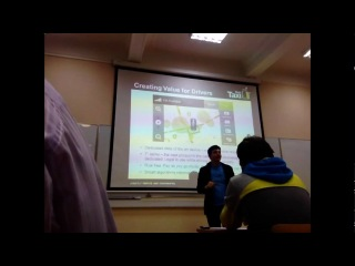 Шарах Вайсер: презентация GetTaxi (заказ такси по интернету)
