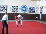 1 место Чемпионат Киева по кикбоксингу WAKO