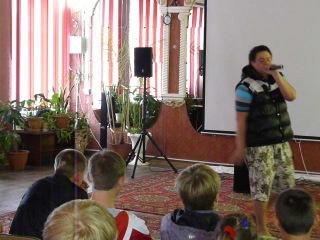Тачето Выступление в Дорогинском детском доме