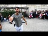 Уличные танцоры в Париже..я была в восторге..