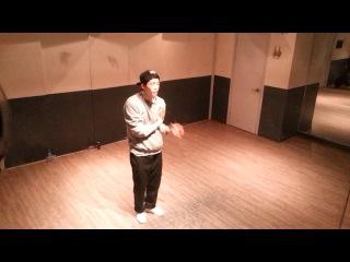 [ TUTAT ][POPPING] Freestyle with Tutting style @ MVLS STUDIO 16.11.13