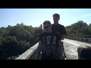 Прыжок с моста Первомайск,высота 35 м