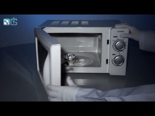 фольга в микроволновке