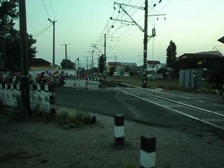 Електропоезд отправляется на Одессу