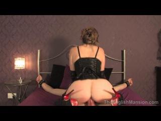 The English Mansion: Mistress T - Tied, Teased & Ruined (deviant sex, femdom, bondage, MILF - hardcore porn HD 720)