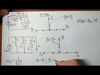 Резонанс токов и напряжений