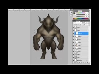 Дизайн мифических существ: Минотавр - 02