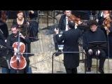 Канчели  Diplipito для виолончели, голоса и оркестра Борис Андрианов (виолончель) Олег Безинских (контратенор) Дирижер  Джанлука Марчиано (Италия)