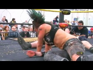 #My1 CZW 14th Anniversary Show 2013 - Christina Von Eerie vs. MASADA(Fatal Attraction Death Match)