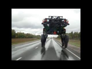 Настоящее НЛО на российской дороге