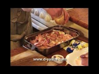 Шашлык Скороспелка от Дяди Яши. Свинина Готовится в духовке.