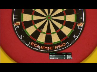 Brendan Dolan vs Andy Hamilton (Players Championship Finals 2013 / Round 2)