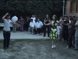 ► Свадьба Чечня [95] Ловзар : Чеченец танцует лезгинку с чеченкой и ингушкой. Красавчик Нохчи парень ◄