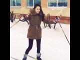 Двукратная чемпионка по лыжам:)