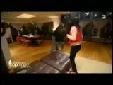 German Top model tv show - tickle fight