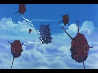 Soratobu Yuureisen Летающий Корабль Призрак 1969 Субтитры 2 часть