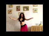 Восточные танцы(Видеоурок №1)-Алина Сахарова