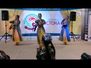 Мастер-класс по узбекскому танцу