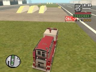 Эпичная битва: Пожарная машина vs. Полицейский вертолет (GTA San Andreas)