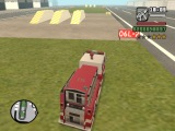 Эпичная битва Пожарная машина vs. Полицейский вертолет (GTA San Andreas)