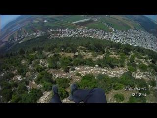 Паратрип по Израилю. Гора Тавор (Гора Преображения Фавор)