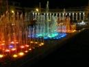 Цветные фонтаны у театра Камала