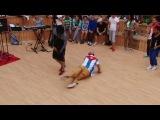 Танцевальный баттл. Команда TOP9 (Break Dance) против Michael Fonts's Company (Salsa)