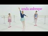 Барби: балерина в розовых пуантах. Уроки танцев (часть 5) [RUS]