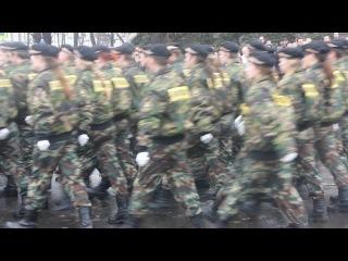 10.11.2013 - Парад в честь Дня сотрудника органов внутренних дел