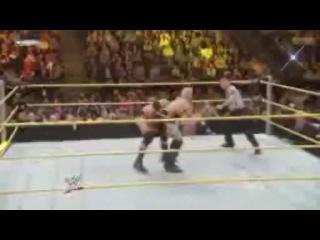 Back Suplex - Wade Barrett
