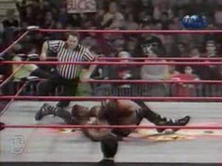 WCW NITRO 14.02.2000 - Титаны Рестлинга на канале ТНТ / Николай Фоменко