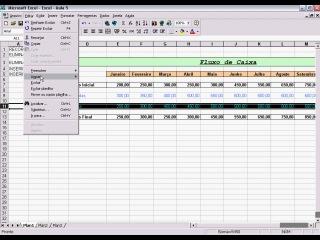 Excel - Aula 5 - Riscos Recortar Eliminar Inserir