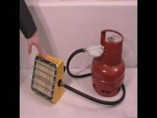 Газовый инфракрасный обогреватель Aeroheat IG2000, 2,3 кВт