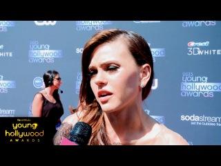 ИНТЕРВЬЮ: Эйми говорит о поцелуе с Мэтт Лантером в